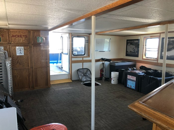 1999 Steel Custom Build 65' x 23' x 5.4' Transport Canada Certified 70 Passenger Tour Boat Photo 11 of 12