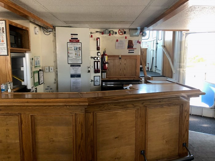 1999 Steel Custom Build 65' x 23' x 5.4' Transport Canada Certified 70 Passenger Tour Boat Photo 12 of 12