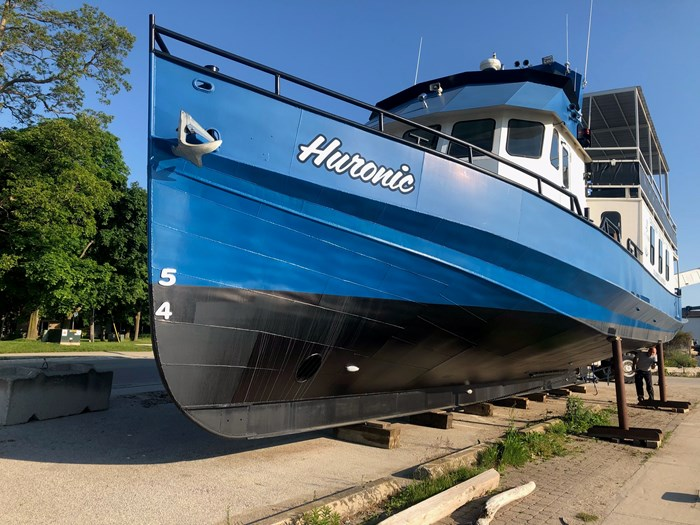 1999 Steel Custom Build 65' x 23' x 5.4' Transport Canada Certified 70 Passenger Tour Boat Photo 3 of 12