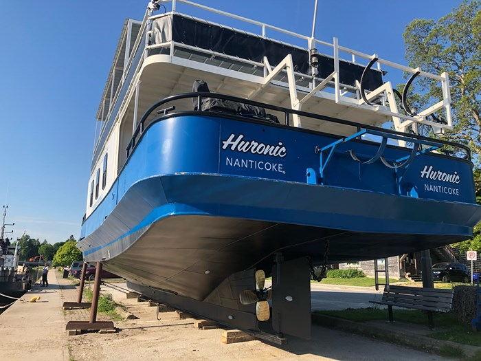 1999 Steel Custom Build 65' x 23' x 5.4' Transport Canada Certified 70 Passenger Tour Boat Photo 4 of 12