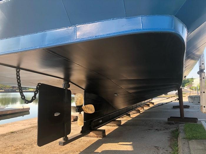 1999 Steel Custom Build 65' x 23' x 5.4' Transport Canada Certified 70 Passenger Tour Boat Photo 7 of 12