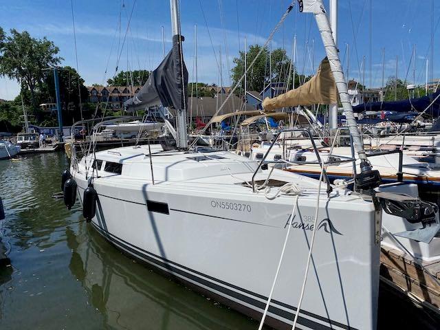 2017 Hanse Yachts Hanse 385 Photo 2 sur 30