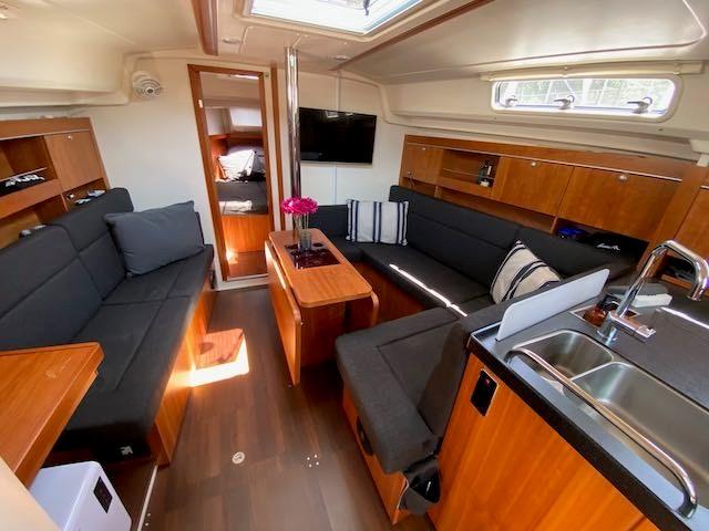 2017 Hanse Yachts Hanse 385 Photo 17 sur 30