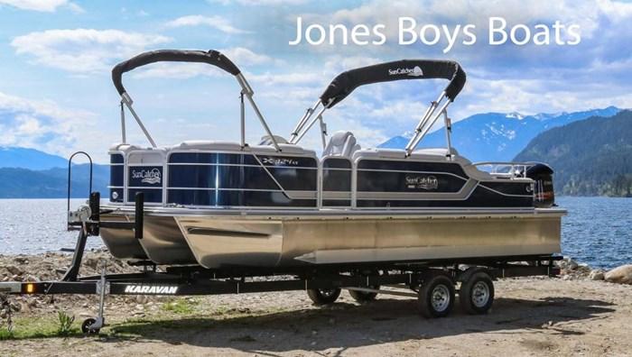 2020 SunCatcher Pontoons by G3 Boats X324 SS Photo 2 sur 8