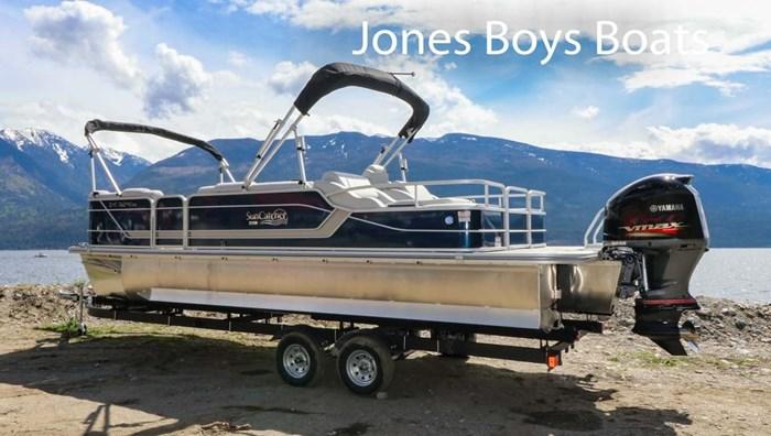 2020 SunCatcher Pontoons by G3 Boats X324 SS Photo 3 sur 8