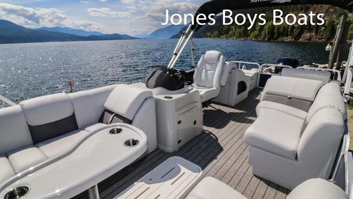 2020 SunCatcher Pontoons by G3 Boats X324 SS Photo 6 sur 8