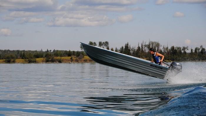 2020 Marlon Welded Utility Boat WV14L W/ Center Console Photo 1 sur 8