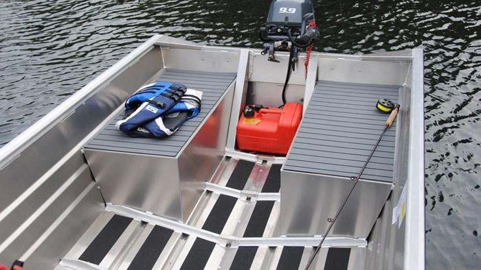 2020 Marlon Welded Utility Boat WV14L W/ Center Console Photo 8 sur 8