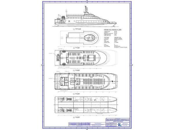 1994 Ferry Passenger, Catamaran Vessel Photo 101 of 101