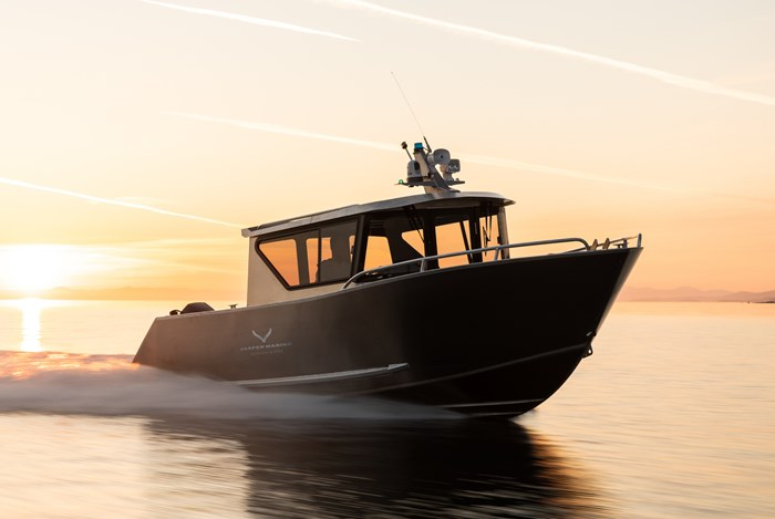 "2020 Jasper Marine 22'-0"" Defender Photo 6 of 14"