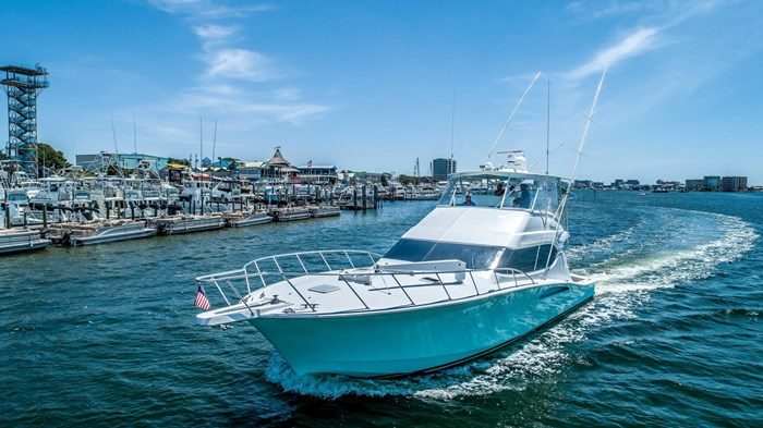 2006 Hatteras 54 Convertible Photo 1 of 42