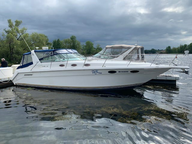 1994 Sea Ray 370 Express Cruiser Photo 1 of 25