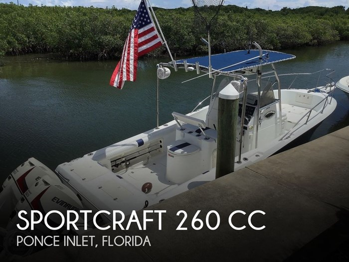 2000 Sportcraft 260 CC Photo 1 sur 20