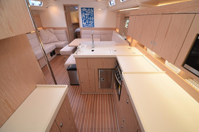 2016 Hanse Yachts 455 Photo 22 sur 63