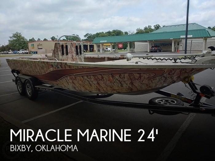 2017 Miracle Marine River Jet Ranger Recon Photo 1 sur 20