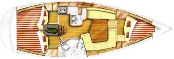 2003 Dufour Yachts Gib'sea 37 / 3 Cabin Photo 39 of 39