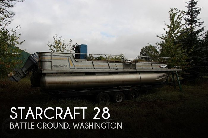 1990 Starcraft 28 DLX Photo 1 sur 20