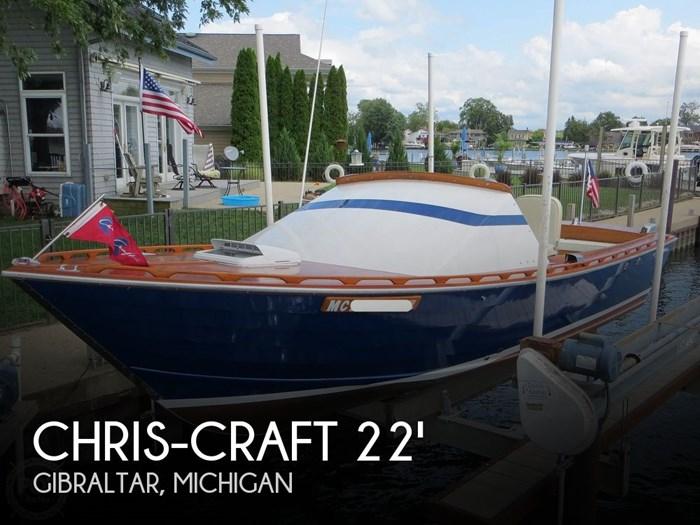 1966 Chris-Craft Cavalier Cutlass 22' Photo 1 sur 20
