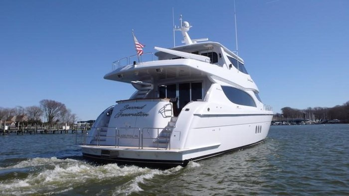 2005 Hatteras Sky Lounge Motor Yacht Photo 5 sur 69