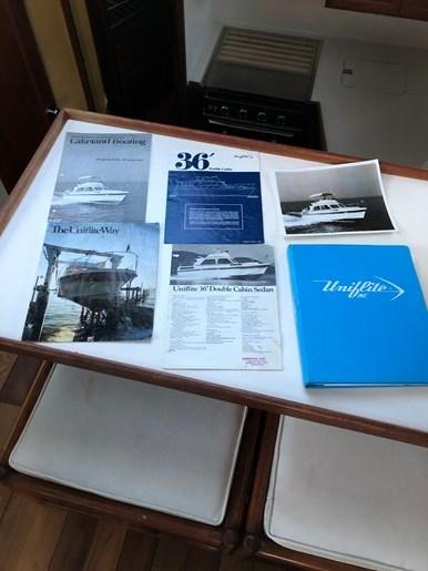 1974 1974 36 Uniflite DCMY ( Double Cabin Motor Yacht) 36 Sedan Flybridge Double Cabin Motor Yacht Photo 18 of 25