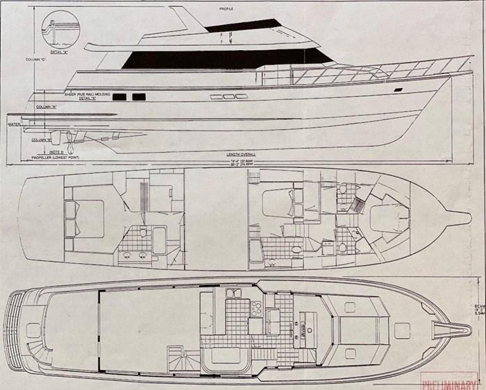 1998 Hatteras Motor Yacht Photo 53 sur 53