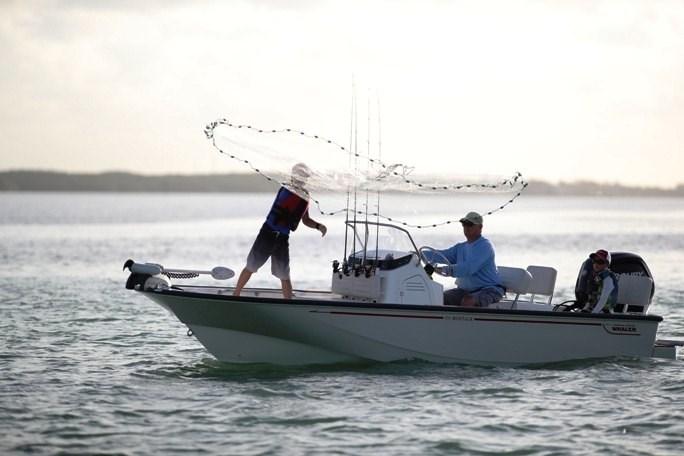 2021 Boston Whaler 170 Montauk Photo 1 sur 10