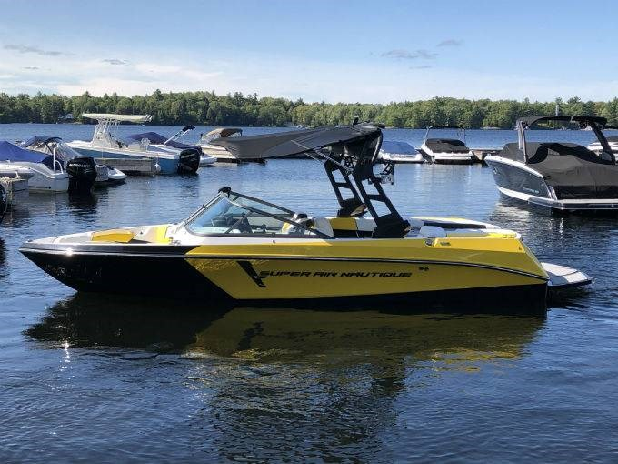 2019 NAUTIQUE SUPER AIR 210 Photo 1 of 5