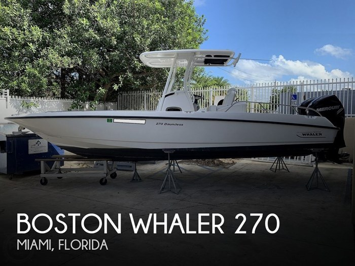 2013 Boston Whaler 270 Dauntless Photo 1 sur 20