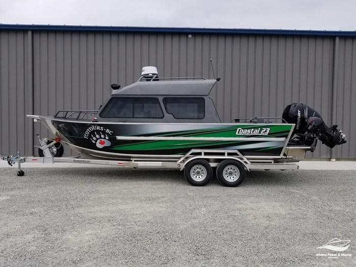 2018 Rogue Jet Boatworks Coastal 23 HT Outboard Model Photo 1 of 46