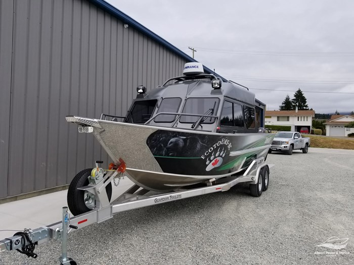 """2018 Rogue Jet Boatworks Coastal 23 HT Outboard Model - Grizzly"""" Photo 3 sur 46"""