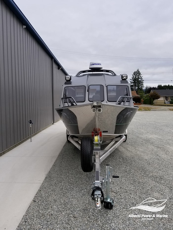 """2018 Rogue Jet Boatworks Coastal 23 HT Outboard Model - Grizzly"""" Photo 4 sur 46"""