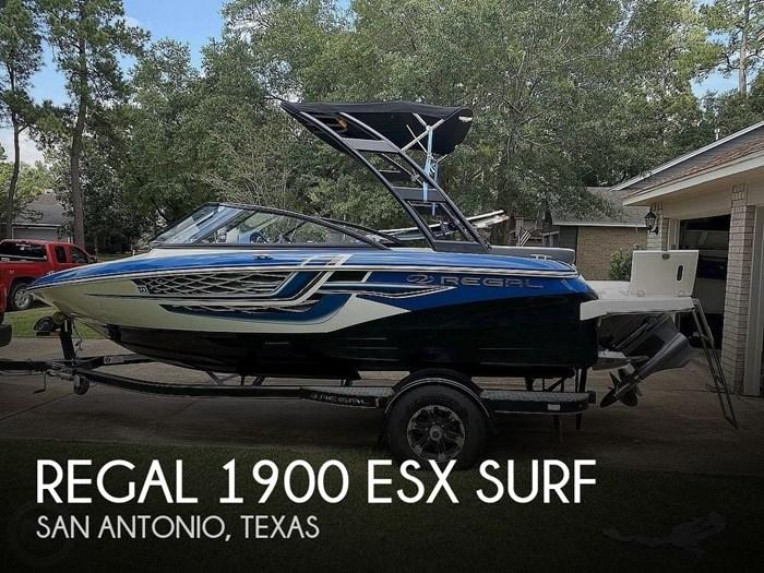 2018 Regal 1900 ESX Surf Photo 1 sur 20