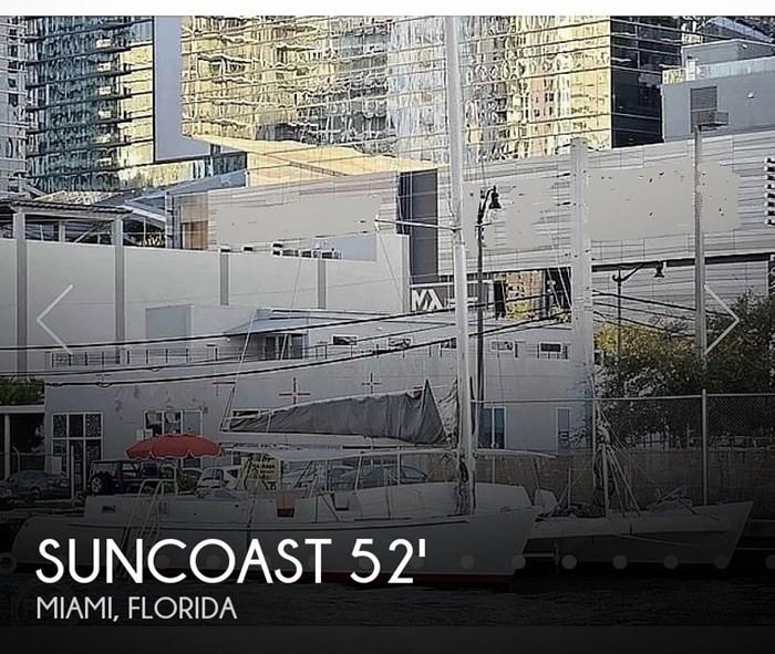 1987 Suncoast 52.5 Custom Photo 1 sur 14