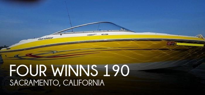 2005 Four Winns 190 Horizon Photo 1 sur 20