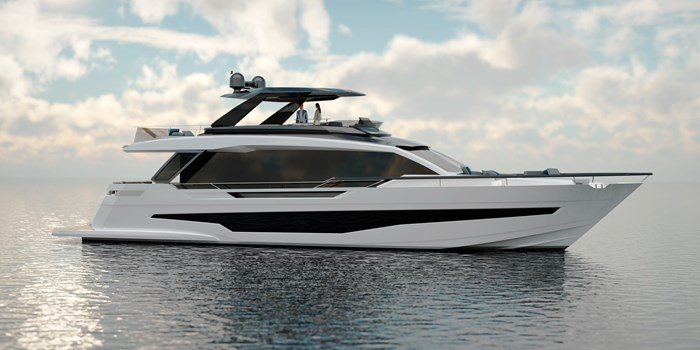 2021 Astondoa AS8 Flybridge Photo 1 sur 18