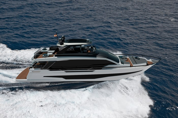 2021 Astondoa AS8 Flybridge Photo 3 sur 18