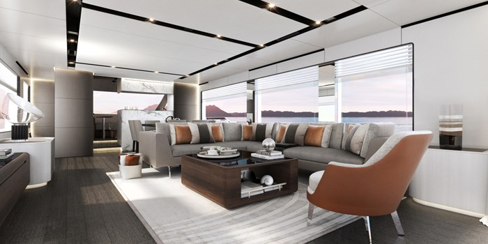 2021 Astondoa AS8 Flybridge Photo 6 sur 18