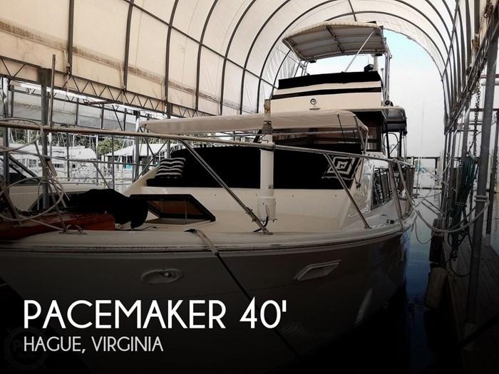 1976 Pacemaker Flush Deck Motor Yacht Photo 1 sur 20