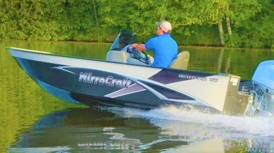 2021 MirroCraft Boat, Mercury 40HP Motor&Trailer (Pkg) Outfitter Side Console 165SC-O - 20T - White Photo 19 of 22