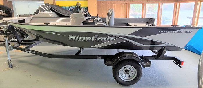 2021 MirroCraft Boat, Mercury 40HP Motor&Trailer (Pkg) Outfitter Side Console 165SC-O - 20T - White Photo 1 of 22
