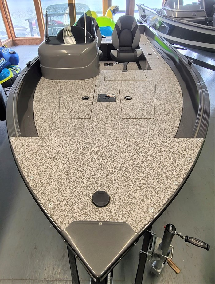 2021 MirroCraft Boat, Mercury 40HP Motor&Trailer (Pkg) Outfitter Side Console 165SC-O - 20T - White Photo 5 of 22