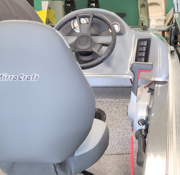 2021 MirroCraft Boat, Mercury 40HP Motor&Trailer (Pkg) Outfitter Side Console 165SC-O - 20T - White Photo 8 of 22