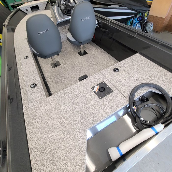 2021 MirroCraft Boat, Mercury 40HP Motor&Trailer (Pkg) Outfitter Side Console 165SC-O - 20T - White Photo 11 of 22