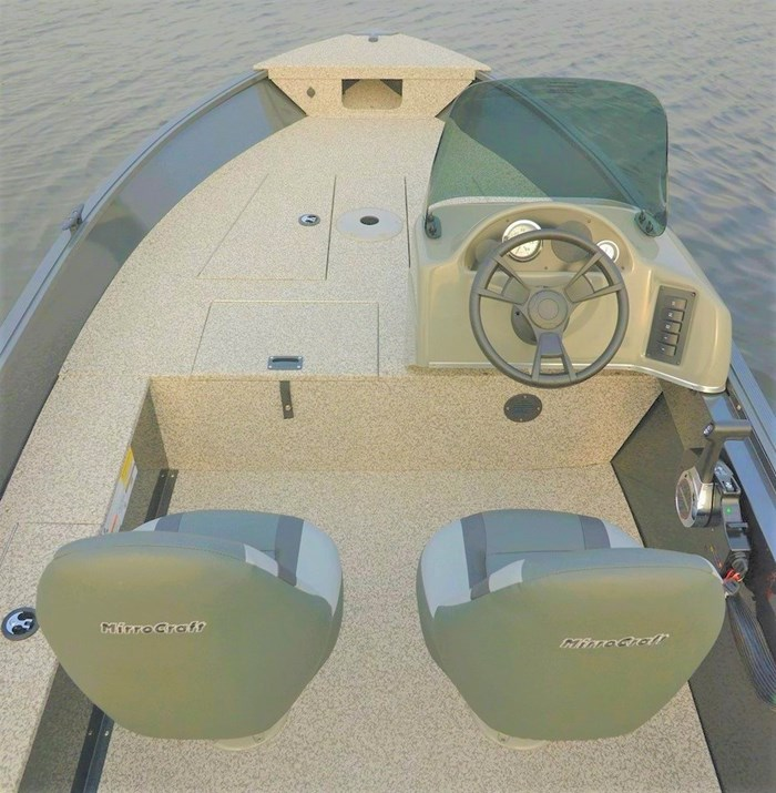 2021 MirroCraft Boat, Mercury 40HP Motor&Trailer (Pkg) Outfitter Side Console 165SC-O - 20T - White Photo 13 of 22