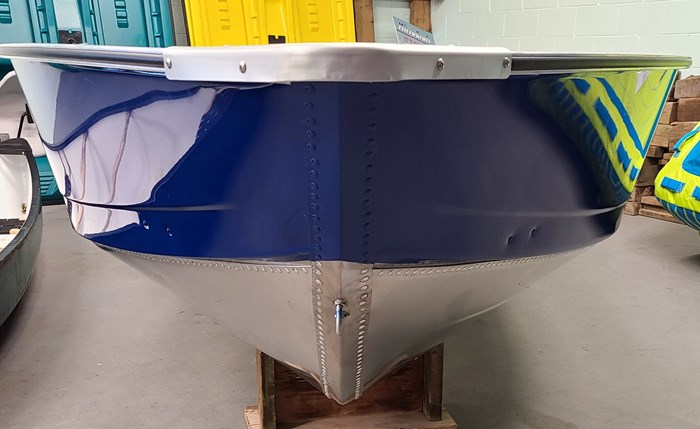 2021 MirroCraft Boat ONLY Laker 3672 Fisherman Utility V - 20T - Blue Photo 4 of 14