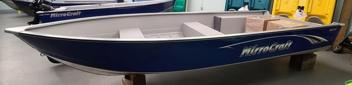 2021 MirroCraft Boat ONLY Laker 3672 Fisherman Utility V - 20T - Blue Photo 5 of 14
