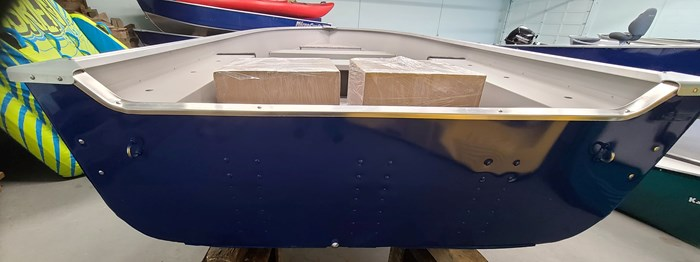 2021 MirroCraft Boat ONLY Laker 3672 Fisherman Utility V - 20T - Blue Photo 7 of 14