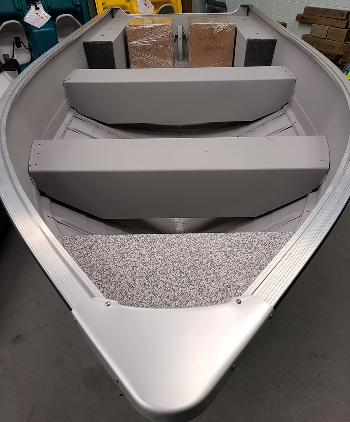 2021 MirroCraft Boat ONLY Laker 3672 Fisherman Utility V - 20T - Blue Photo 14 of 14