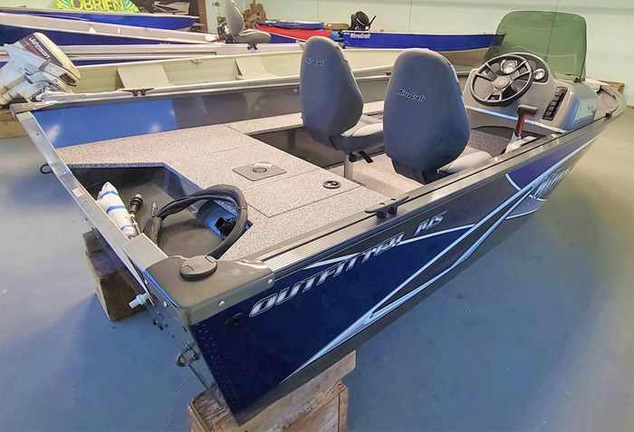 2021 MirroCraft Boat  Mercury Motor (Package) Outfitter Side Console 145SC-O - 20T - Blue Photo 4 of 21
