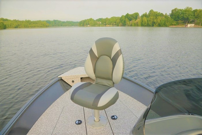 2021 MirroCraft Boat  Mercury Motor (Package) Outfitter Side Console 145SC-O - 20T - Blue Photo 14 of 21